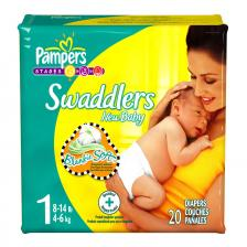 Pampers Swaddlers Diapers by Procter & Gamble