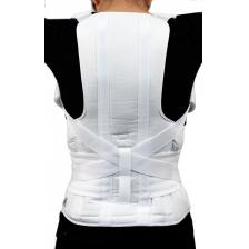 GABRIALLA® Posture Corrector (Thoracic Lumbosacral Orthosis): TLSO-250(W), Small, White
