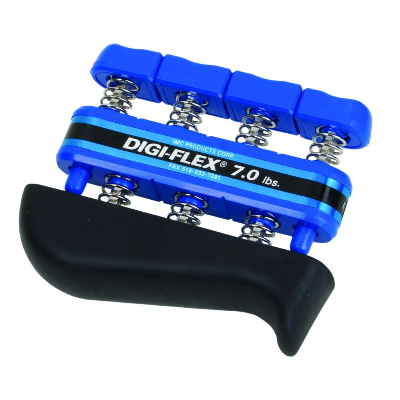 CanDo 10-0743 Digi-Flex Hand Exerciser Finger 7.0 lb//Hand 23.0 lb Blue-Heavy