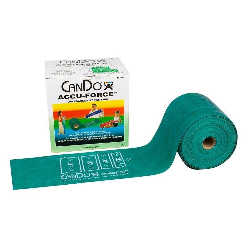 Exercise Bands Green: AccuForce™ Exercise Band