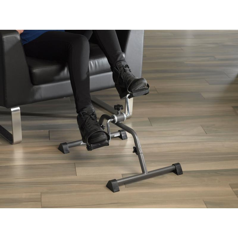 Pedal Exerciser with Attractive Silver Vein Finish Silver