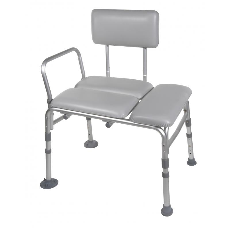 Padded seat transfer bench drive medical 12005kd 1padded seat transfer bench Padded bench seat