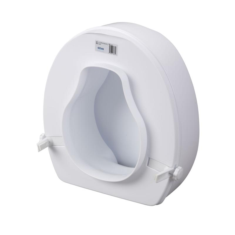 Raised Toilet Seat With Lock And Lid 6 Quot Drive Medical