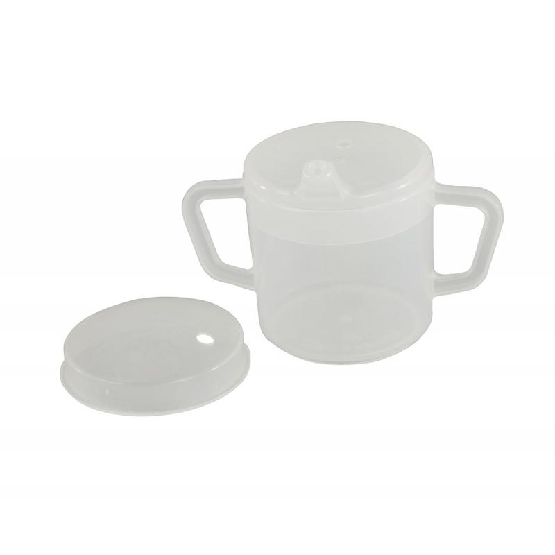 Independence 2 Handled Mug 8 Oz W 2 Lids Fabrication