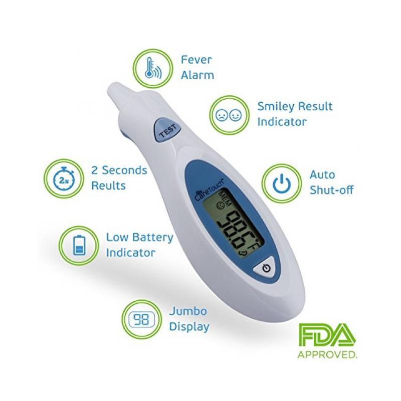 Ear Thermometer Safety 1st Manual 49659 Safety 1st Fever Light 1