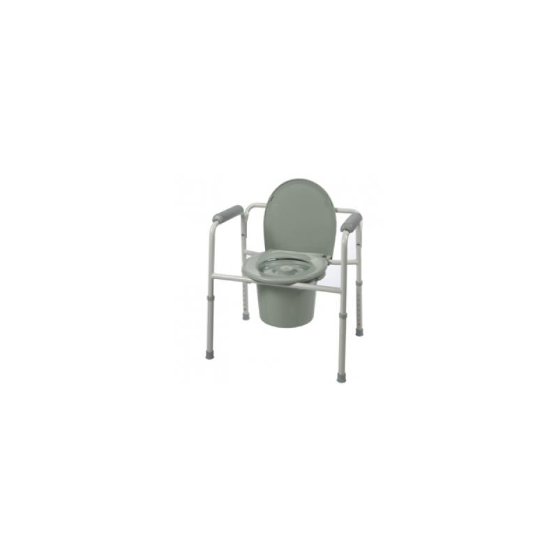 Roscoe Medical BTH-31C Three-In-One Commode Elongated Seat with lid ...