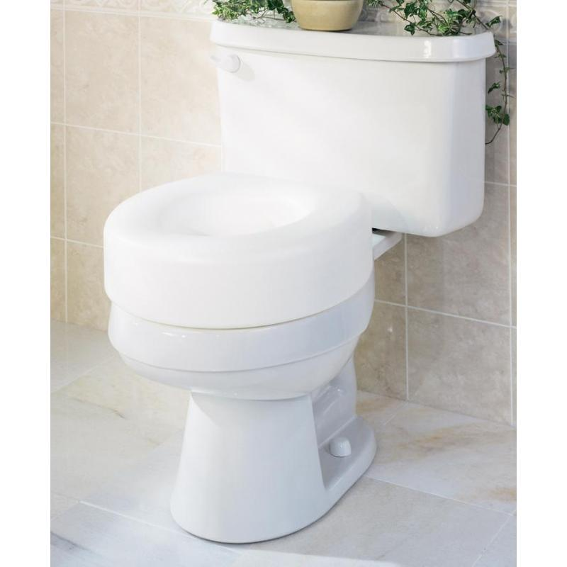 Economy Raised Toilet Seats Medline G30250