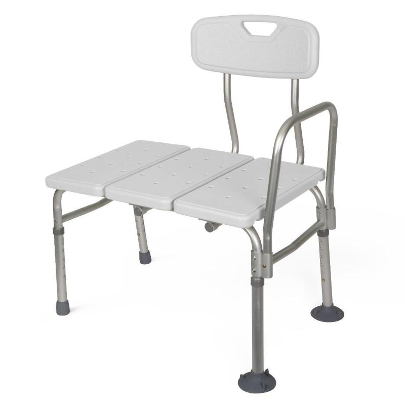 Unpadded Transfer Bench Medline G98308aunpadded Transfer Bench