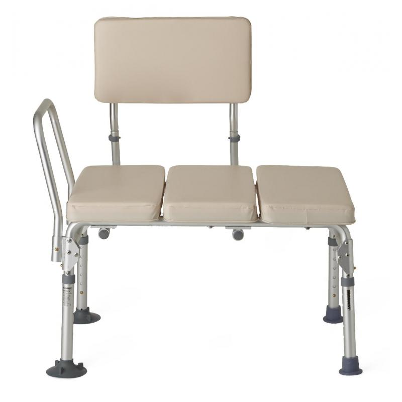 Padded transfer benches medline g98338f Padded benches