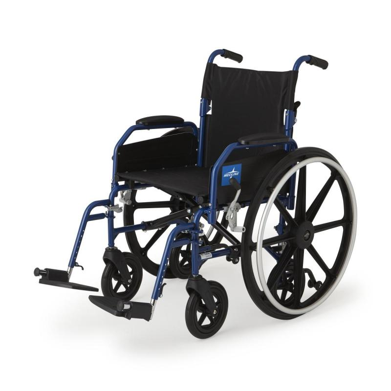 Excel Narrow Hybrid 2 In 1 Wheelchair And Transport Chair