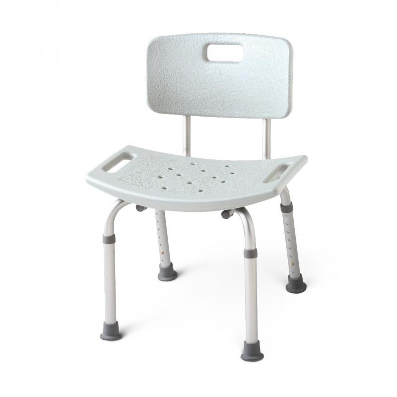 Aluminum Bath Benches With Back Medline Mds89745amedline Mds89745a Aluminum Bath Benches
