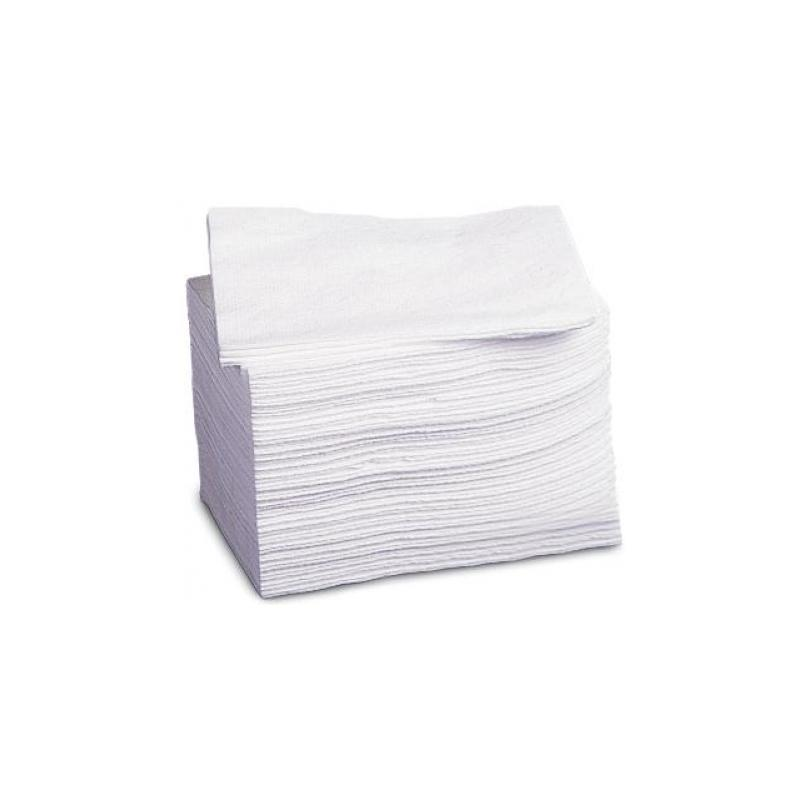 Dry Washcloths: Deluxe Dry Disposable Washcloths, White