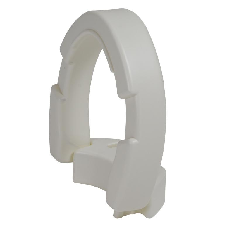 Hinged Toilet Seat Riser Elongated Seat Drive Medical
